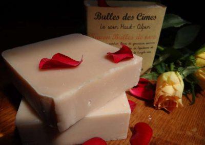SAVON BULLE DE ROSE